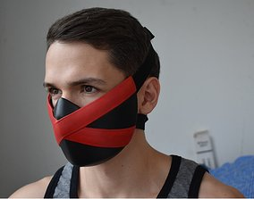 Skarlet Jade Kitana Mileena mask for 3D printable model 3