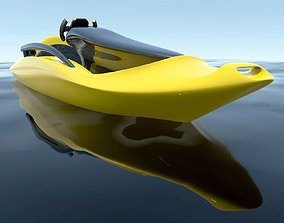Electrical Kayak - Concept design 3D model