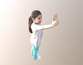 3D model No87 - Selfie Girl person
