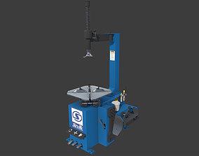 Tire Changer Machine 3D asset