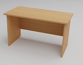 School Desk 3D model VR / AR ready
