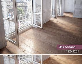 Wooden floor plank 3D