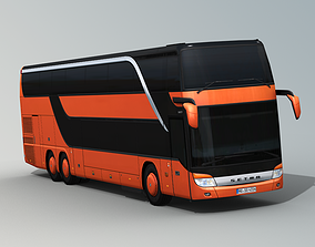 3D model SETRA S 431 DT Double decker bus