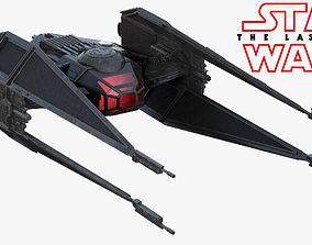 Star Wars Kylo Ren TIE silencer 3D
