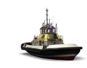 3D asset Tugboat