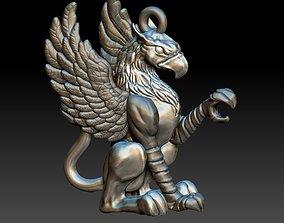 Griffin pendant 3D print model