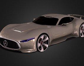 Mercedes Vision GT Supercar Concept 3D asset