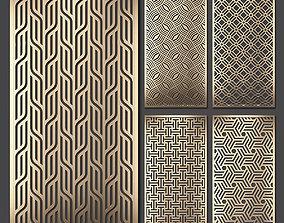 3D Decorative panel set 70