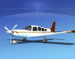 Piper Cherokee Six 260 V10 3D model