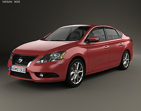 3D model Nissan Pulsar Sentra 2014