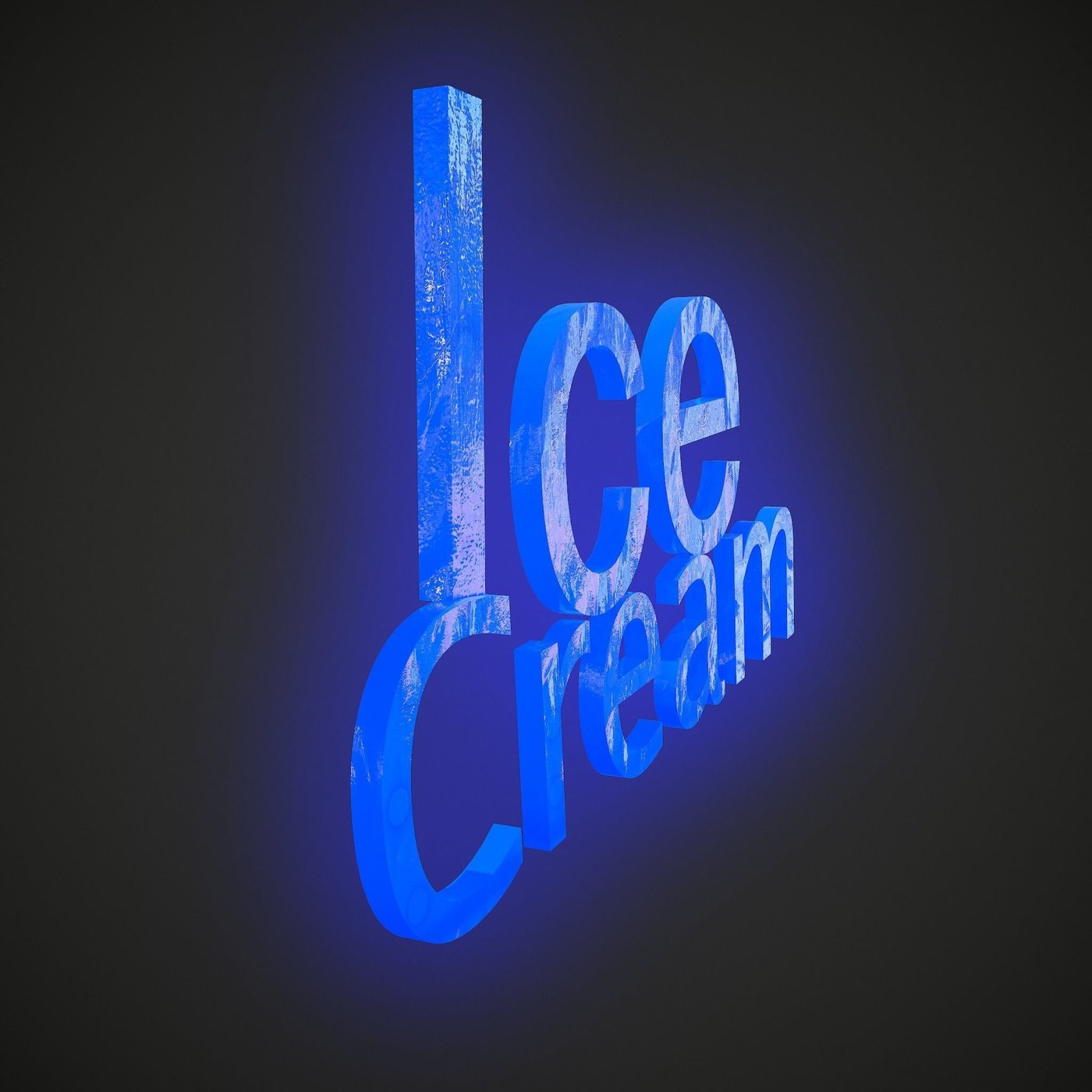Ice Cream Blue