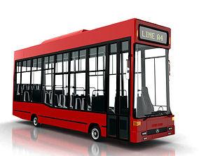 Bus cartton style 3D model