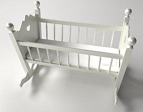 3D model Baby Cradle