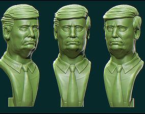 3D print model Donald Trump print