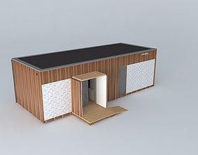 Mobile home ISTRIA 3D model