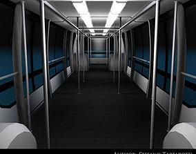 3D Airport bus