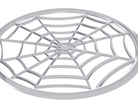 Drink coaster - Spider Web 3D print model