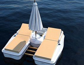 3D model Resortfloat