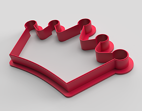 Cookie cutter - Crown 3D print model