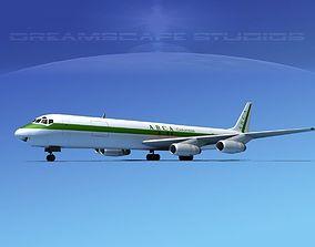 Douglas DC-8-63F ARCA Columbia 3D