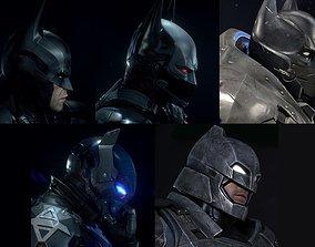 3D printable model Batman Helmet Pack