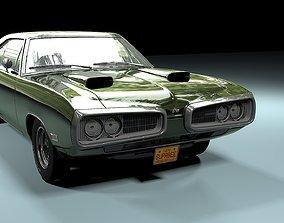 Dodge Coronet Super Bee 1970 3D model standard