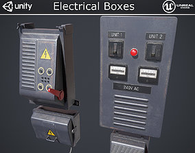 Electrical Boxes 3D asset realtime