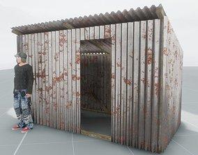Shanty - rusty 3D model VR / AR ready