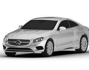 3D model Mercedes-Benz S Class Coupe