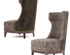 Parker Wing Chair 3D model