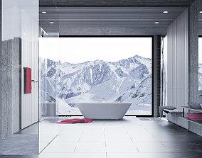 Simple Bathtub 3D model