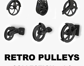 Retro pulleys collection vol 1 3D