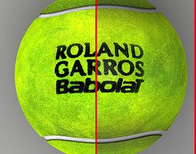 3D model Tennis ball Roland Garros