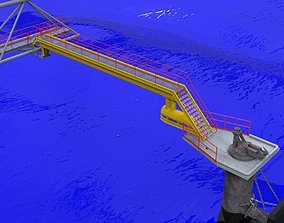 Mooring dock 3D model