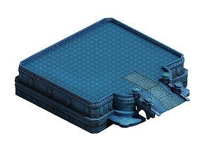 3D model Tang Magic Palace - Religion - platform 002