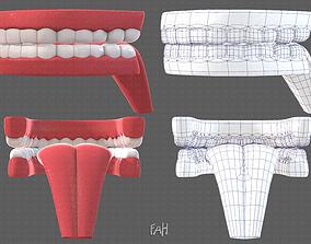 Teeth Cartoon 3D model
