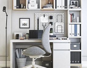 Office workplace 22 3D model
