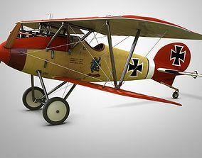 Fighter Aircraft Albatros 3D model
