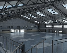 exterior Warehouse Interior And Exterior 3D model
