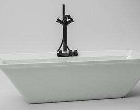 3D bathroom Bathroom Tub
