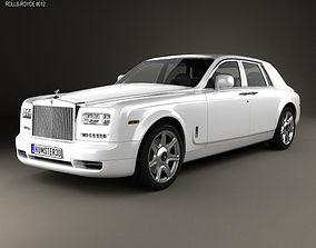 3D Rolls-Royce Phantom sedan 2012