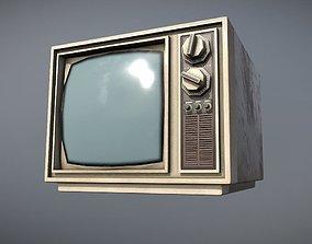3D asset TV 1970s
