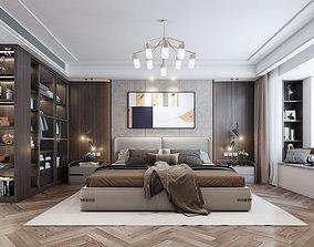 Bedroom interior 3D model bedroom