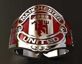 3D printable model Manchester United Ring