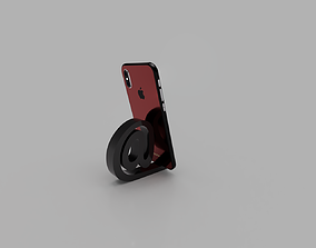 3D printable model Snail Smartphone Holder
