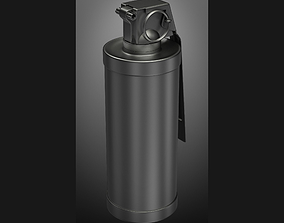 grenade M18 subdivison ready 3D