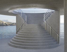 3D model other Stairway
