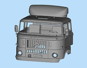 IFA W50 long cab SCALE custom rc body 3D printable model