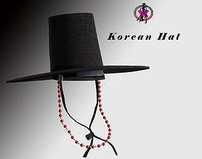Korean Hat-01 3D asset