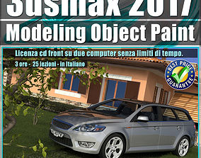 021 3ds max 2017 Object Paint vol 21 Cd Front